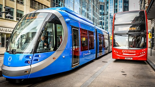 New Metro tram extensions in Walsall, Birmingham, Dudley, Sandwell and Wolverhampton included in plans.