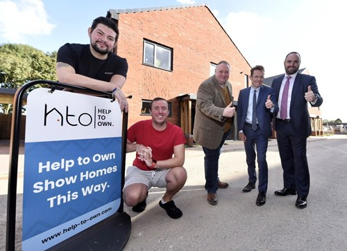 Pioneering Help to Own scheme aimed at helping key workers and others get a foot on the property ladder.