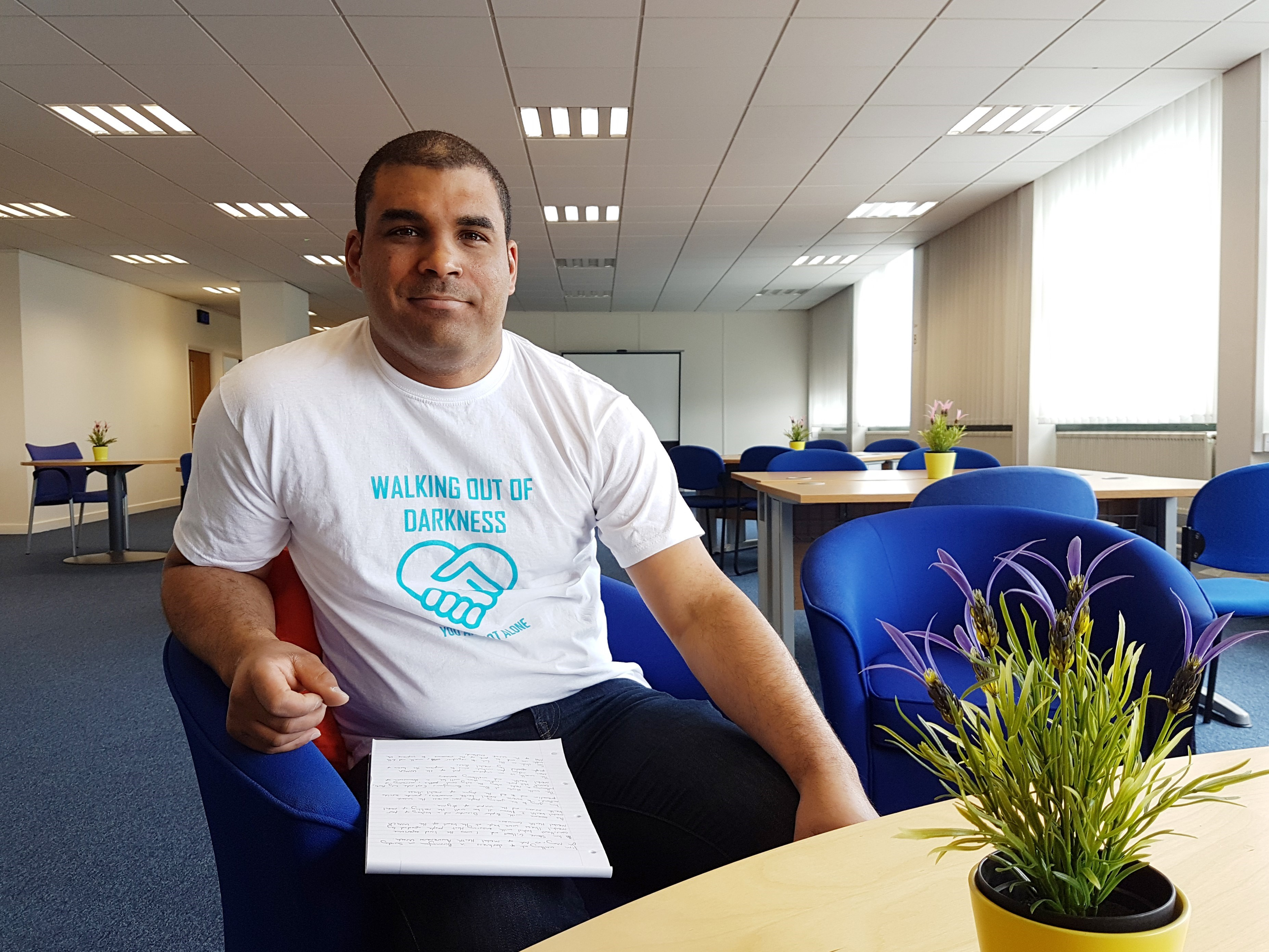 West Midlands Walking Out Of Darkness – got the T-shirt?