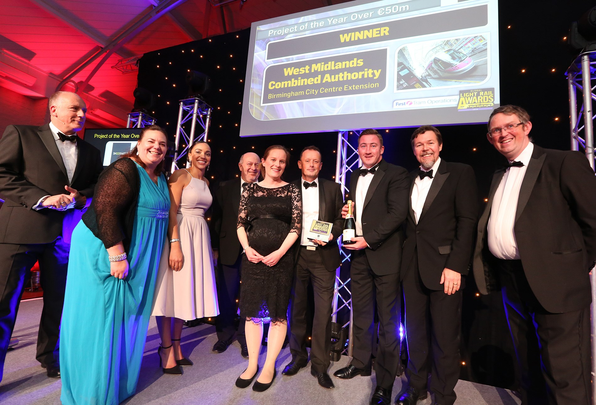 Midland Metro does the double at Global Light Rail awards