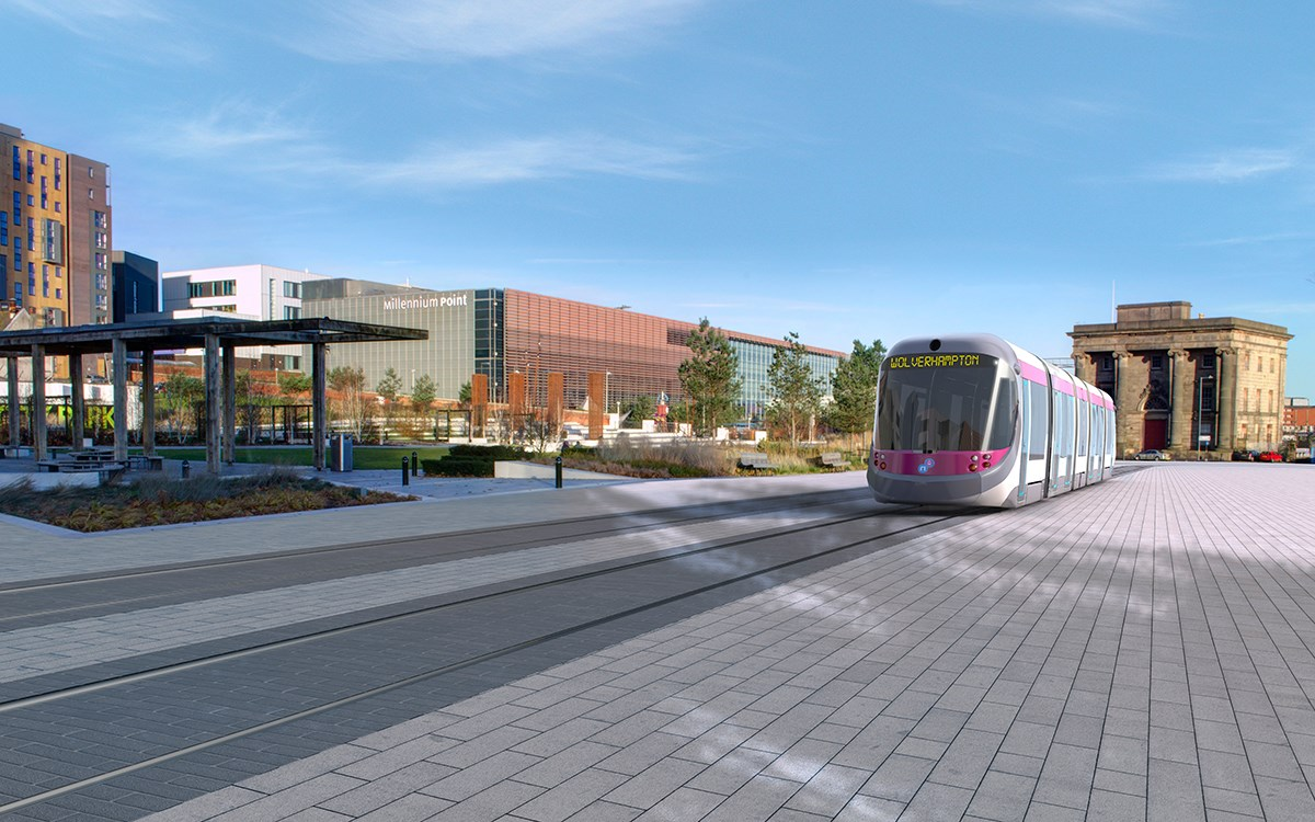 Milestone reached for proposed £137.2m Midland Metro extension in Birmingham