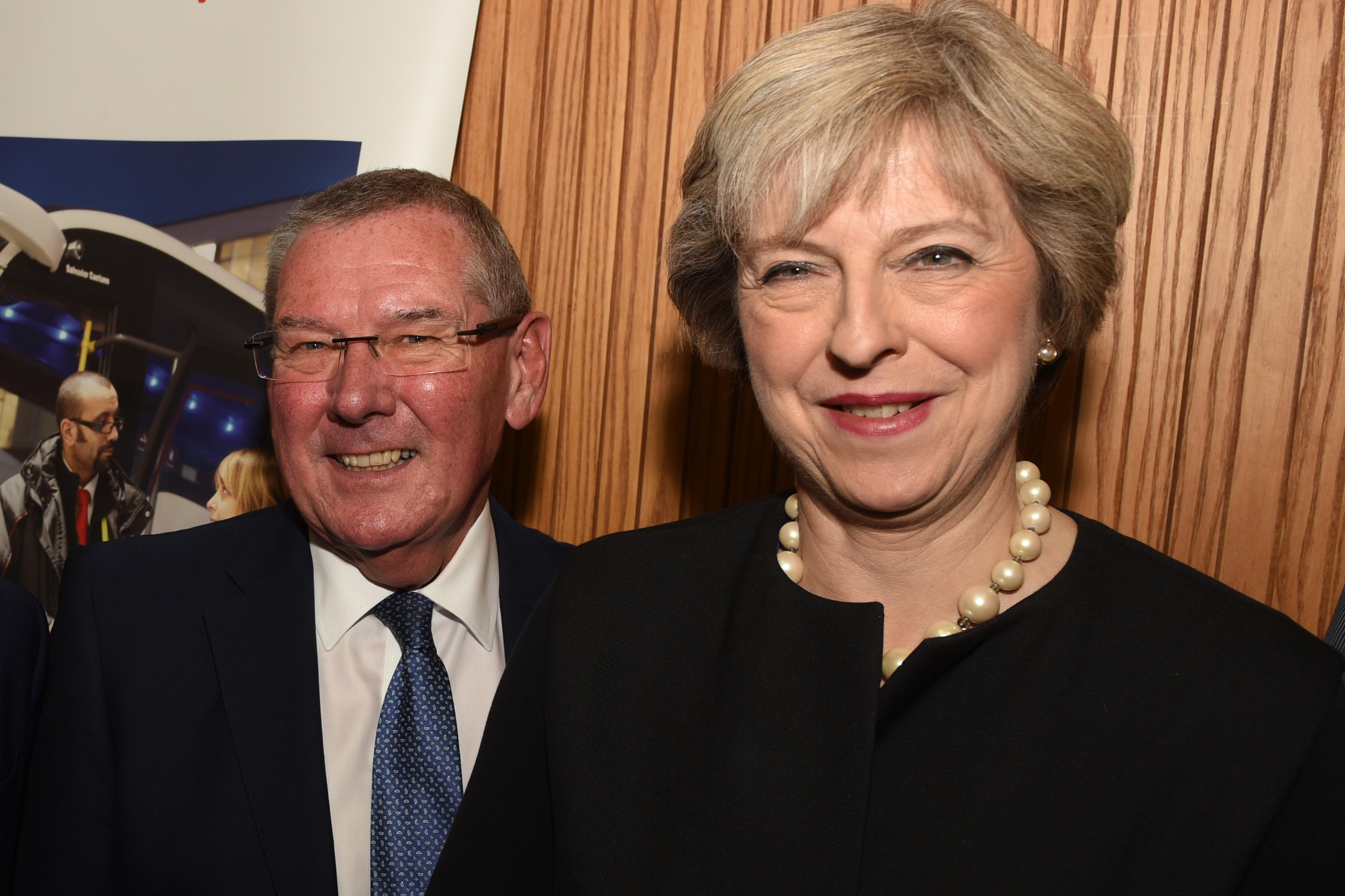 Prime Minister welcomed to region by combined authority chair