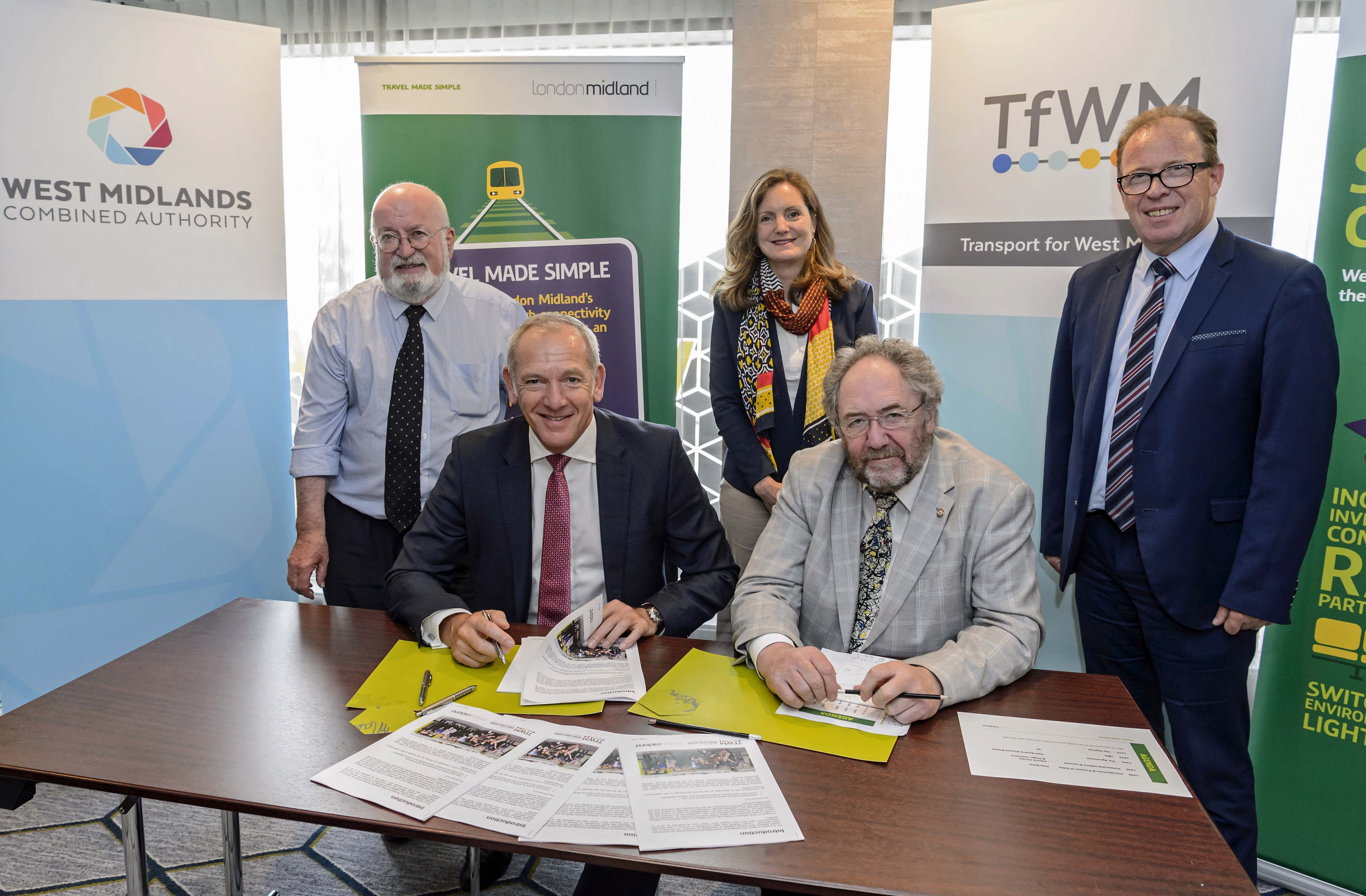 London Midland and Transport for West Midlands sign new partnership deal
