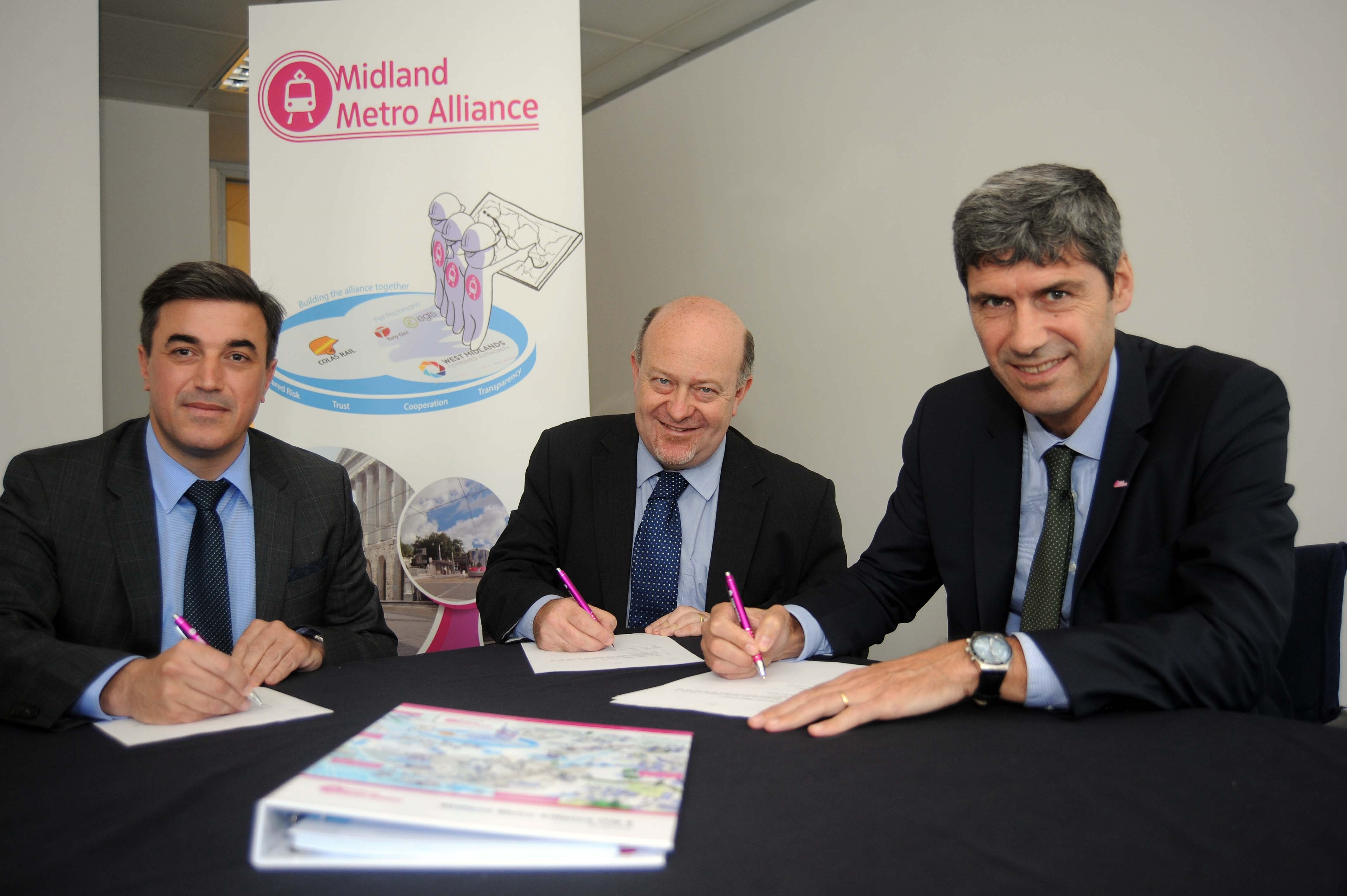 New era in public transport begins as Midland Metro Alliance is formally signed