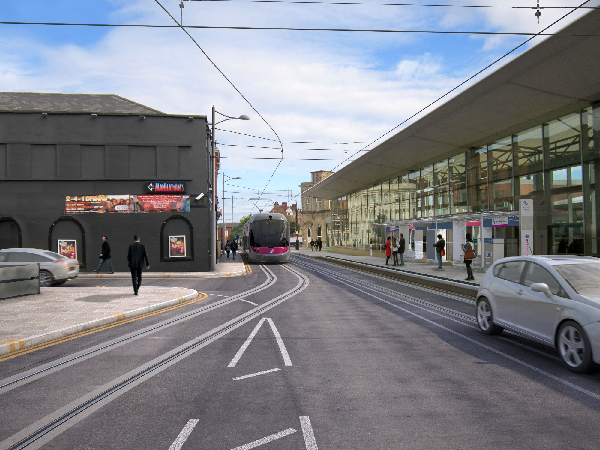 Go- ahead given for Wolverhampton tram extension