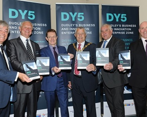 "Mayor declares Dudley ""open for business"" at DY5 launch"