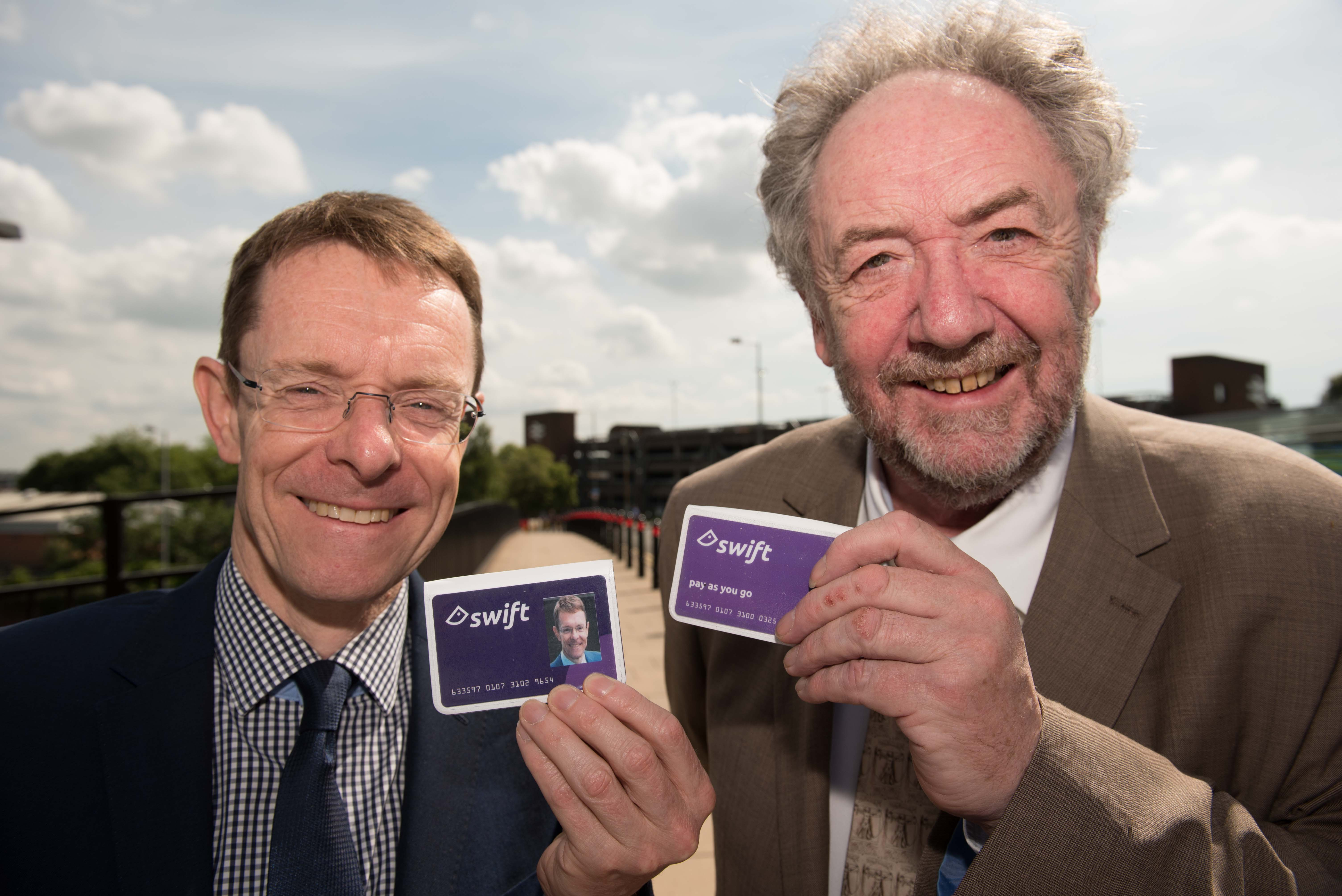 Swift rolled out on bus and rail as smartcard use hits 3m