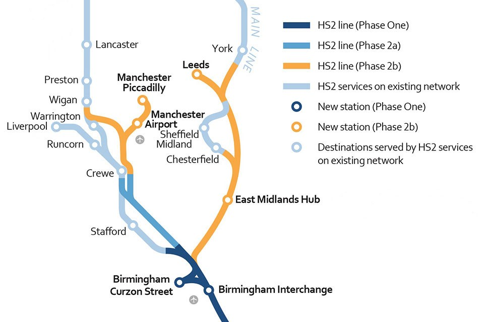 Mayor welcomes Government confirmation of HS2 routes in north of England