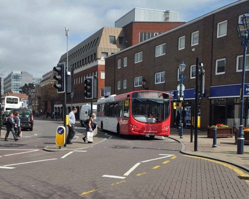 Bus scheme driving cleaner air and better facilities for Solihull town centre