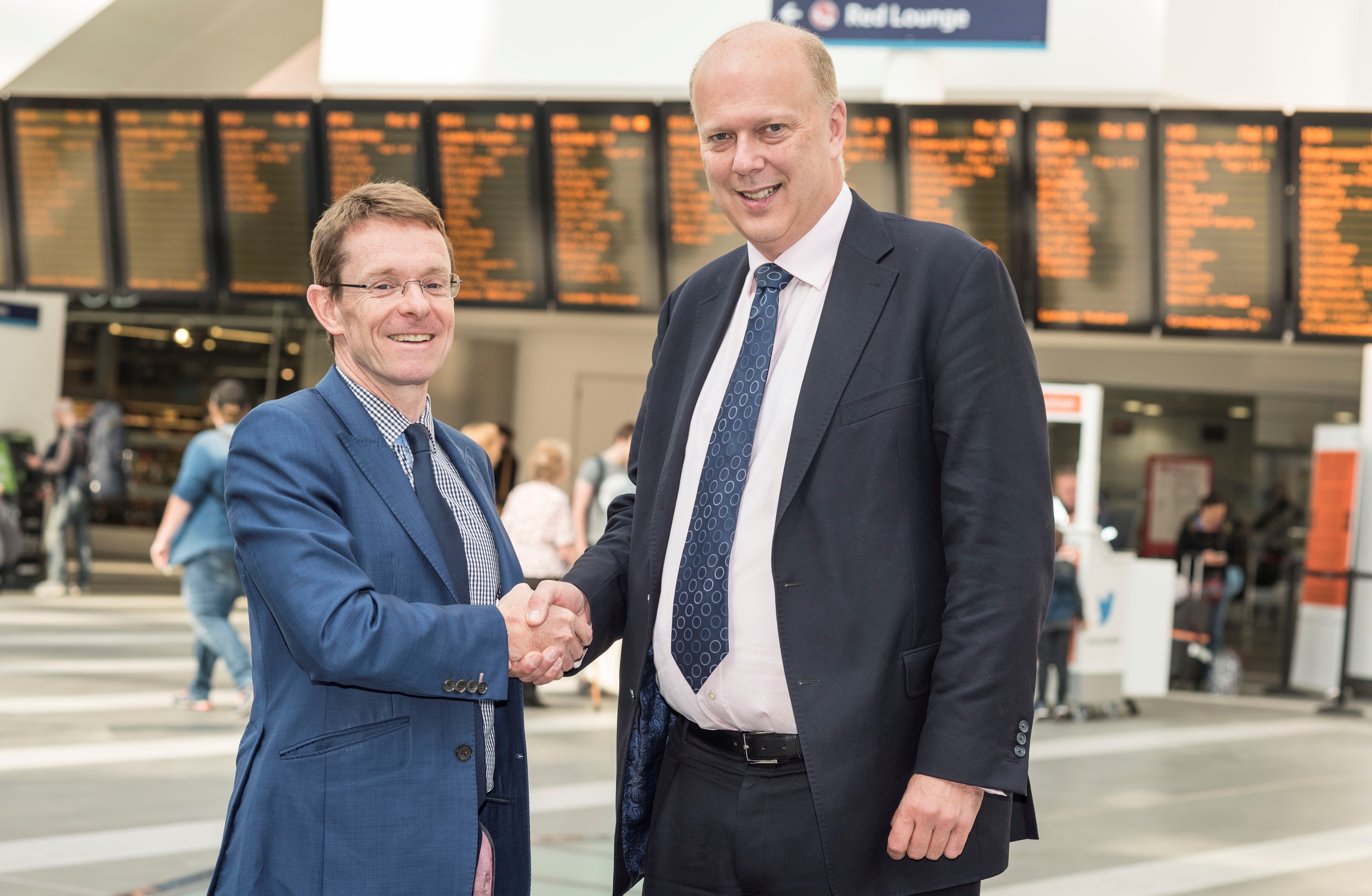 Mayor welcomes near £1 billion rail investment
