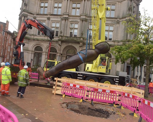 Iron: Man kicks off next phase of Midland Metro tram expansion