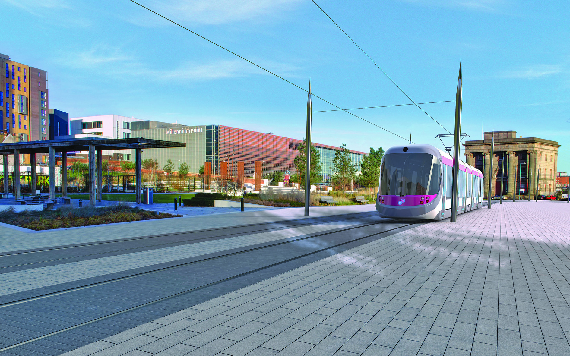 Birmingham Curzon HS2 regeneration plans boosted by funding for new Midland Metro stop