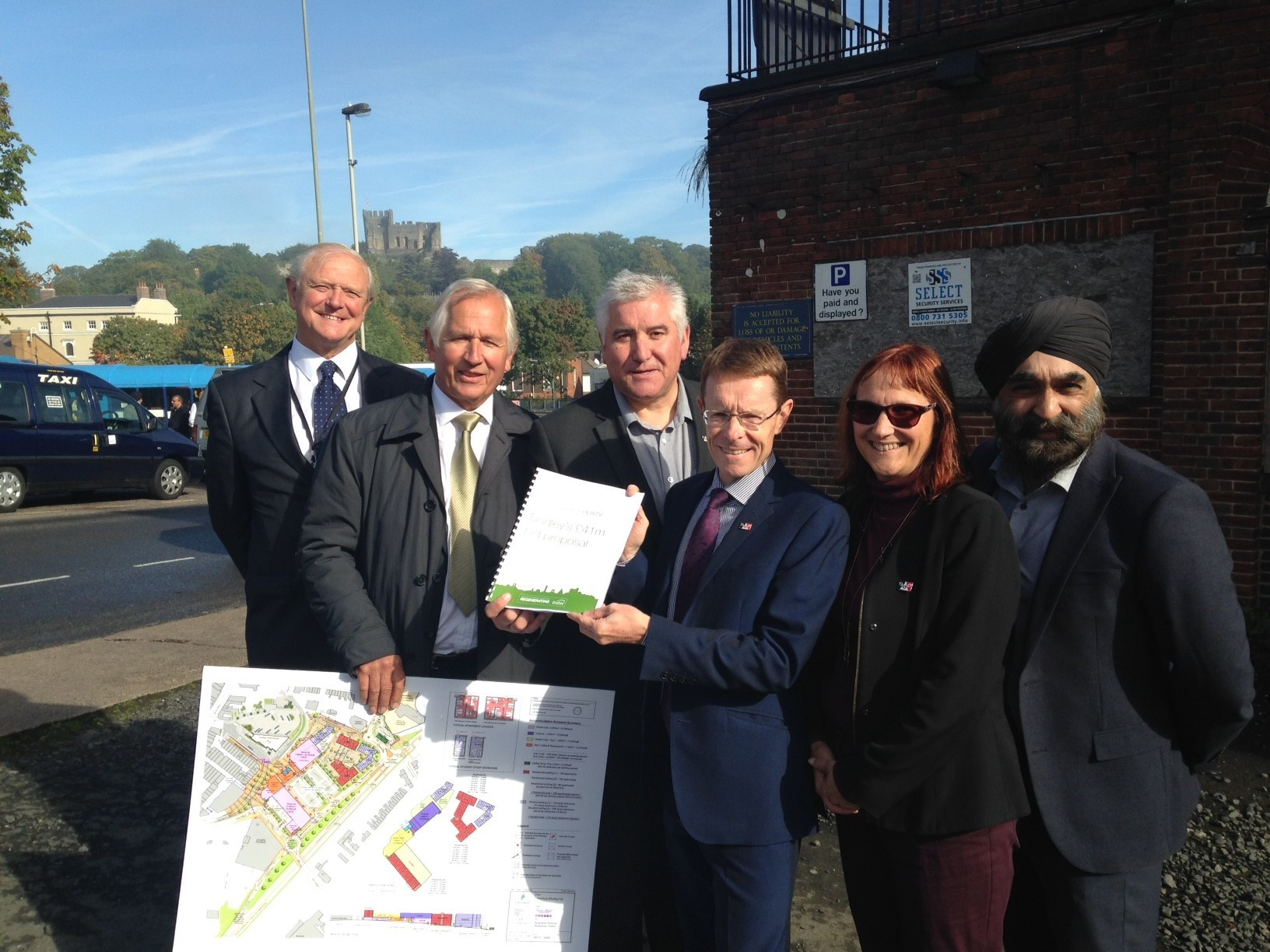 Mayor shown £41 million regeneration proposals for Dudley town centre