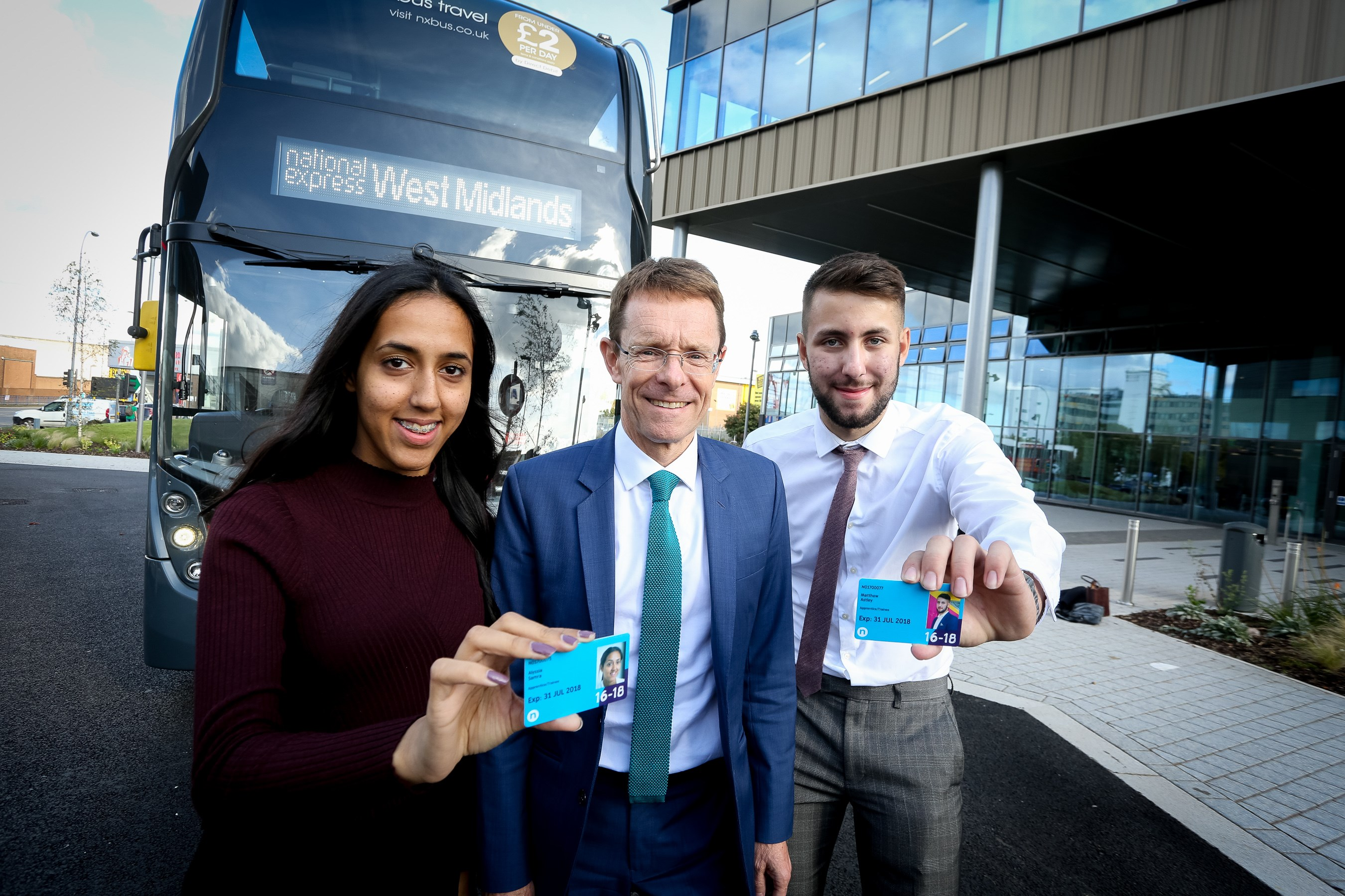 Fare's fair – Mayor of the West Midlands launches half-price travel scheme for young people