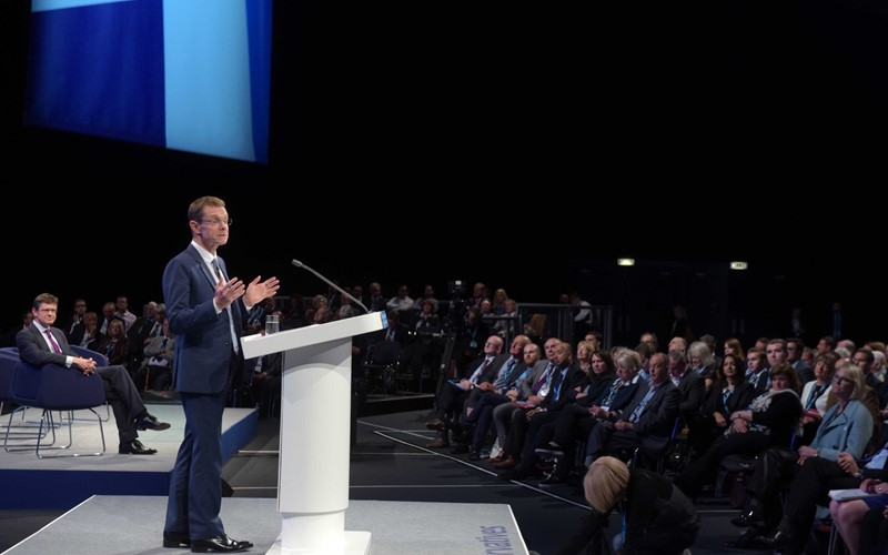 West Midlands is leading the way, Andy Street tells Tory conference