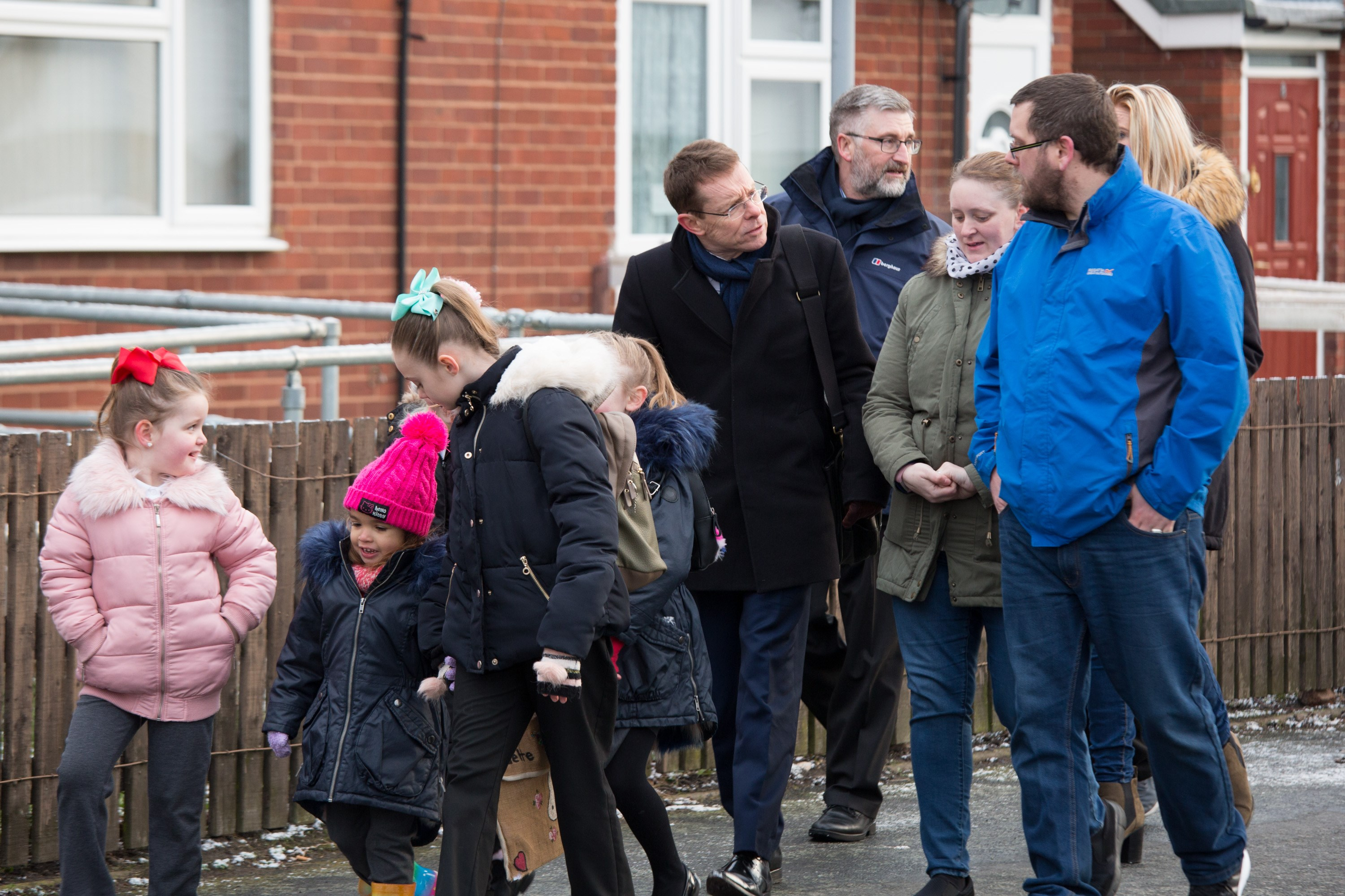 West Midlands Mayor takes to the streets with local pupils