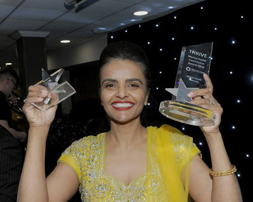 Mental Health Superstar shines at awards