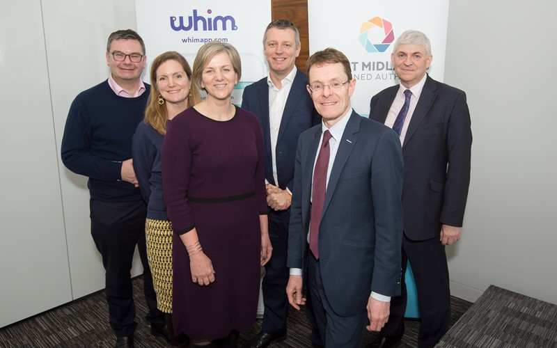 Whim under the spotlight as West Midlands hosts MPs
