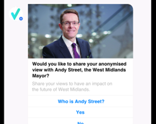New way for people to engage with Mayor goes live