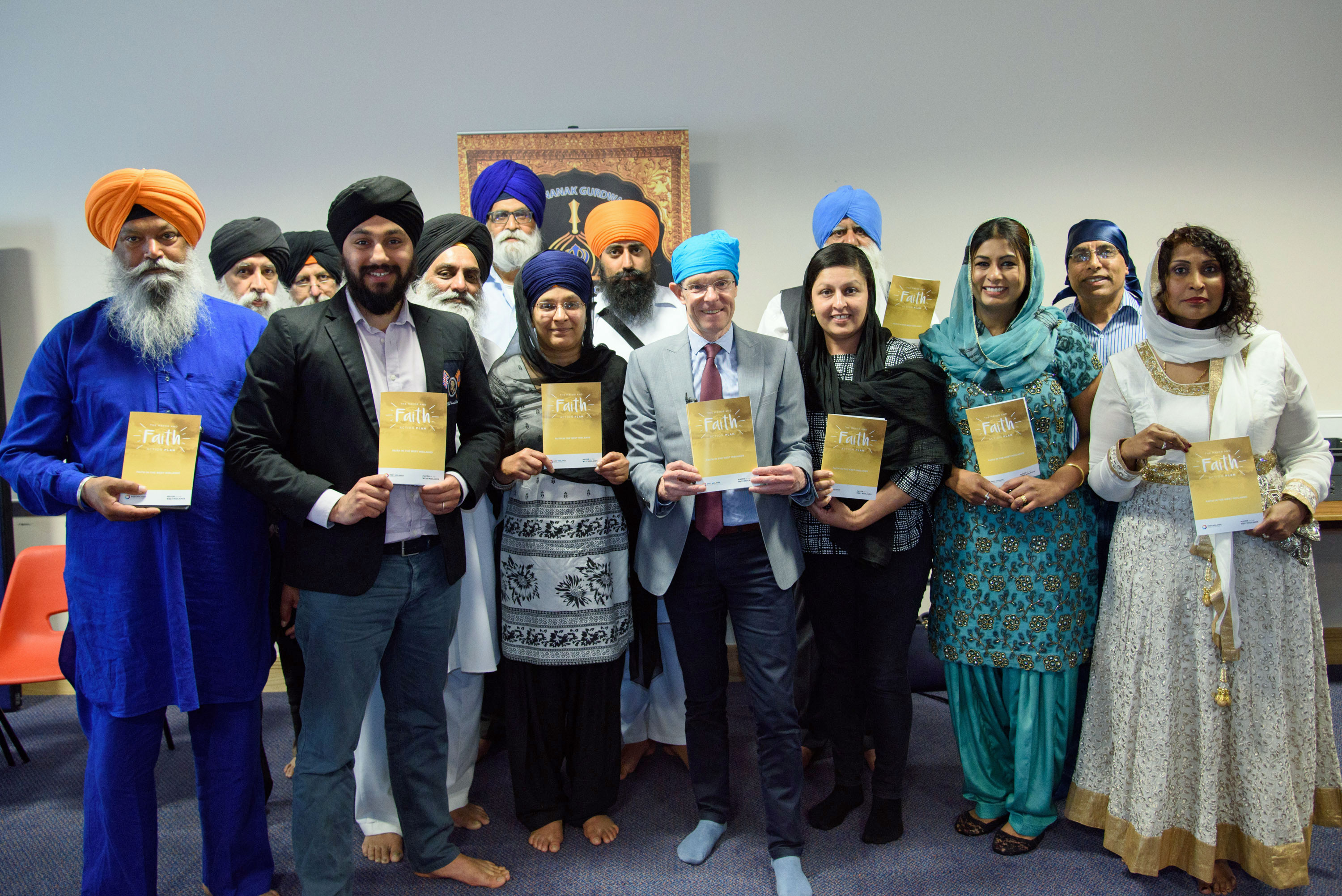 Faiths unite to help Mayor launch action plan