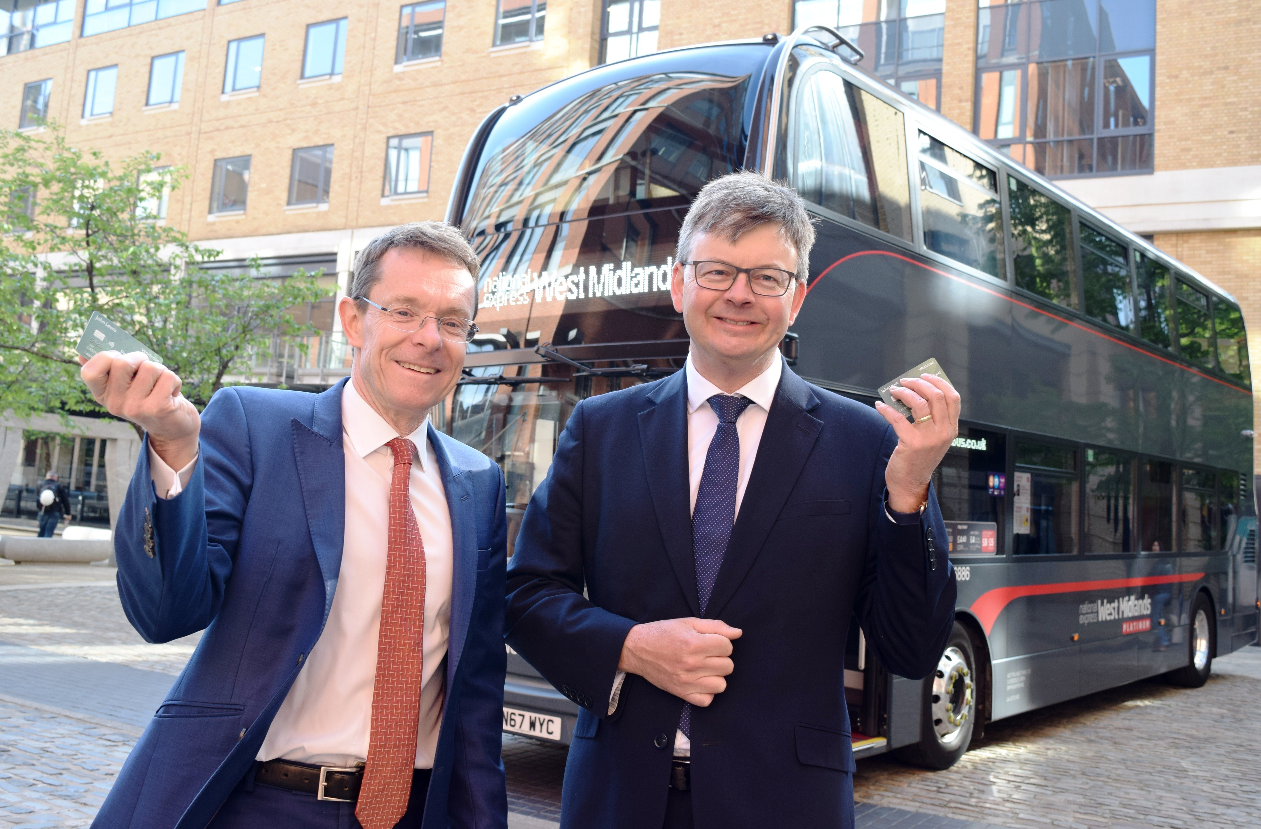 Contactless payment rolled out on to National Express West Midlands buses
