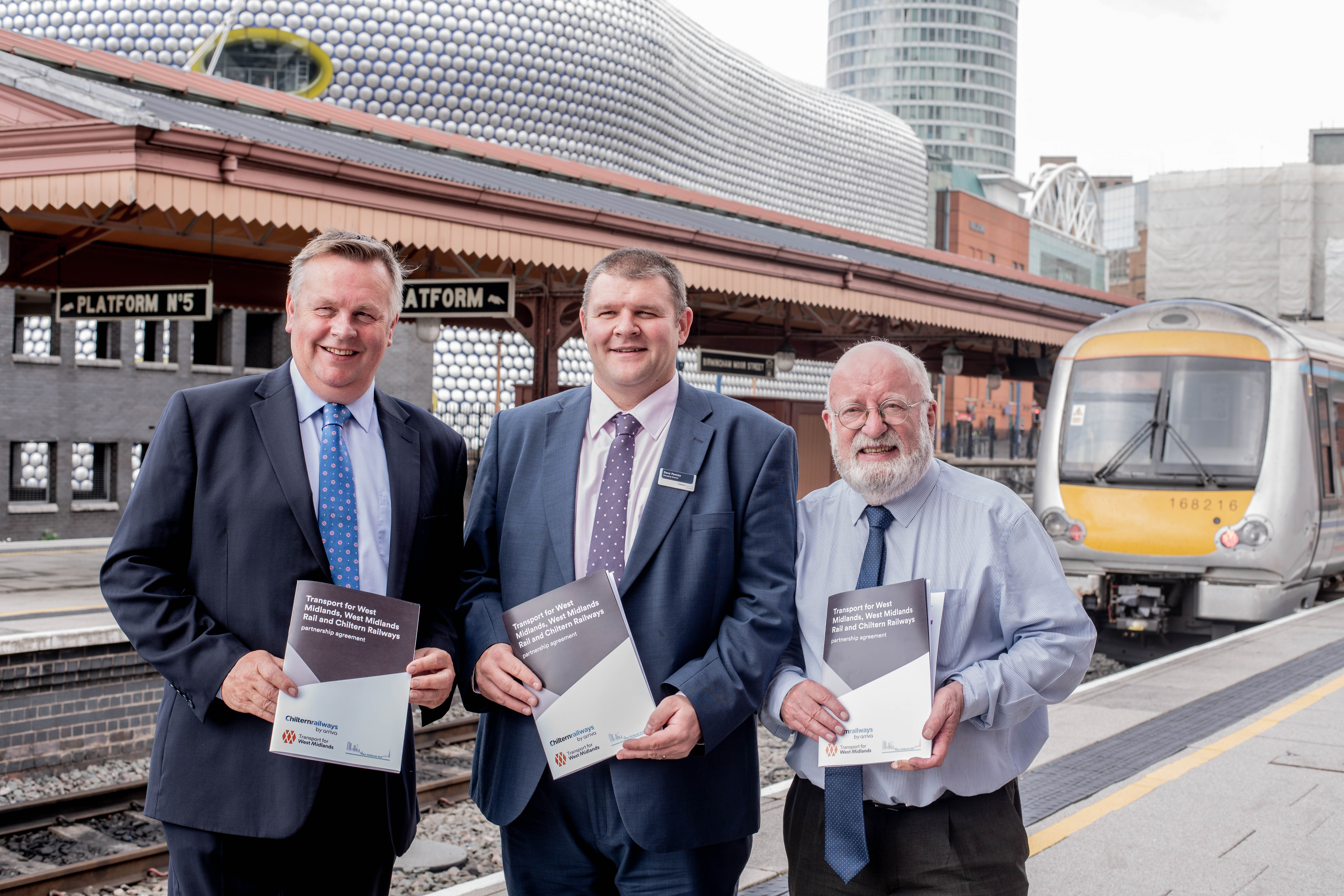 Passengers to see benefits of fresh rail partnership deal