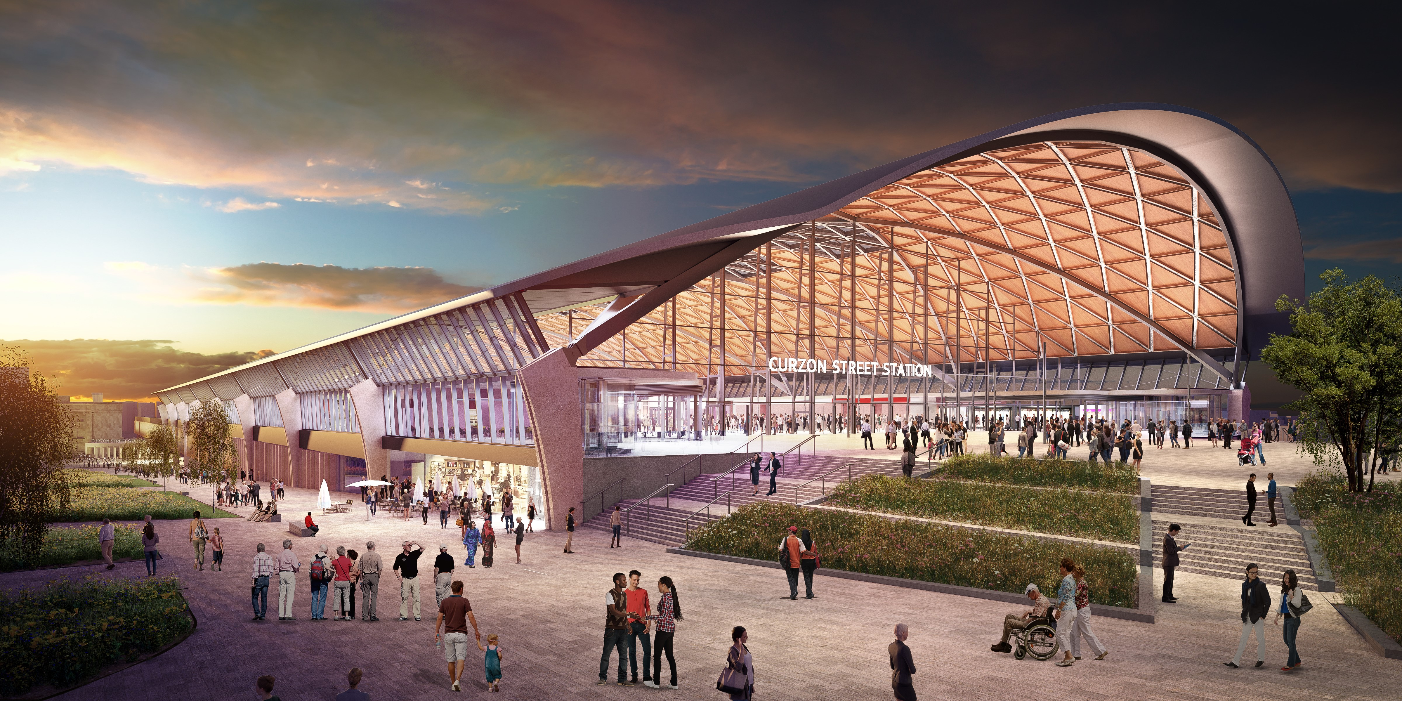 HS2 reveals design vision for new stations in Birmingham and Solihull