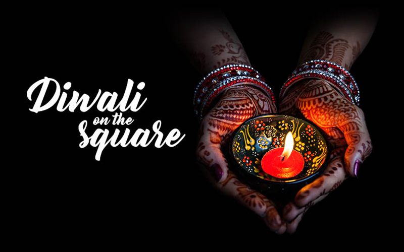 Fantastic line up for Diwali on the Square