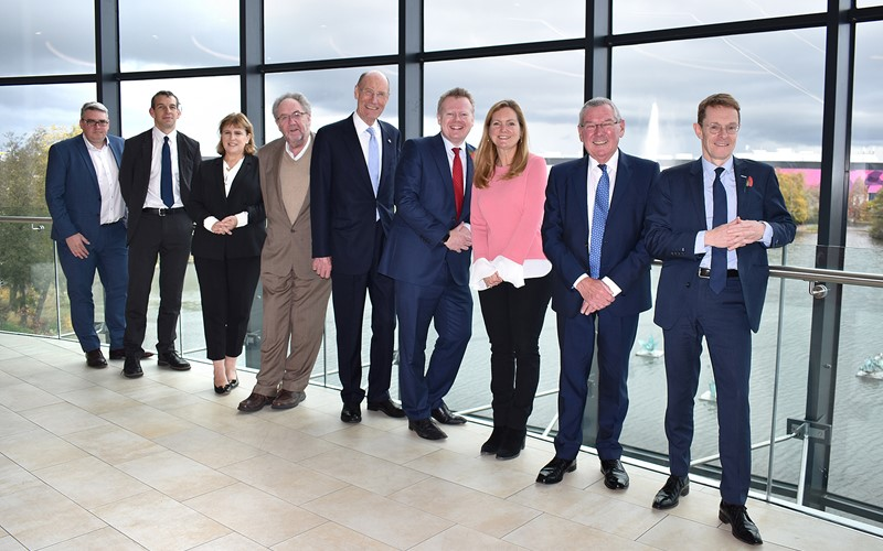 National Infrastructure Commission visit the West Midlands