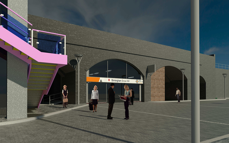 New Snow Hill Station entrance to give passengers direct link between trains and trams