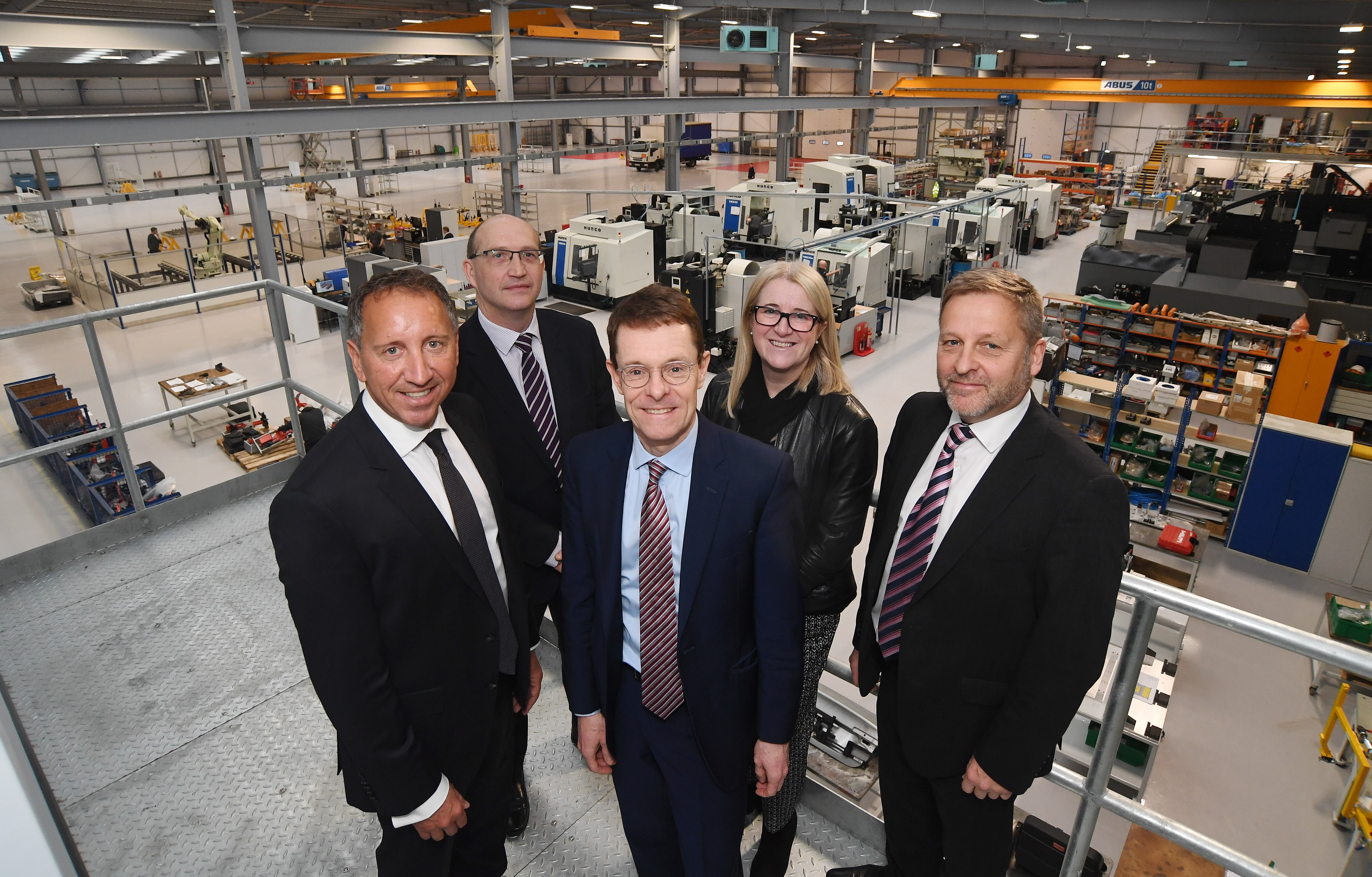 Mayor opens new £10m manufacturing base