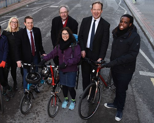 Ambitious plans for cycling in the West Midlands