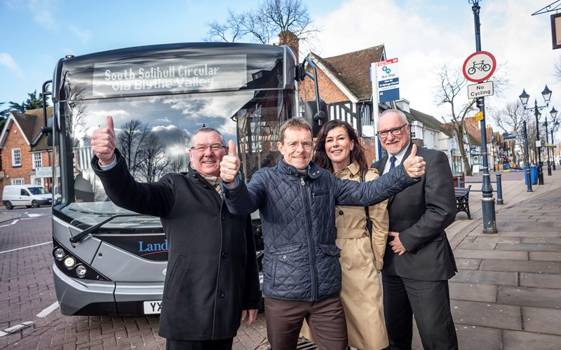 New Solihull bus network to help workers and local economy