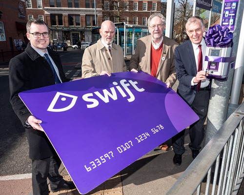 Swift smart travel card rolled out in Cannock Chase