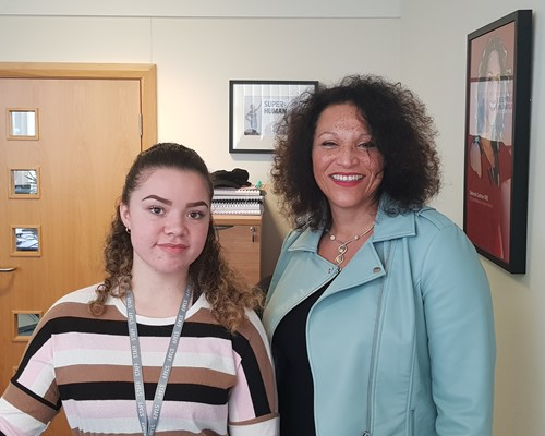 Jade starts as a WMCA apprentice in time for National Apprenticeship Week