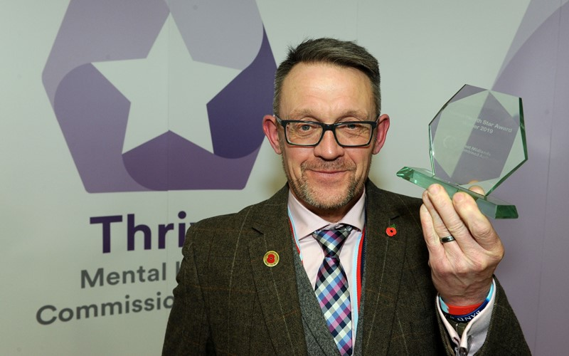 Take the time to listen during Mental Health Awareness Week, says award-winning Staffordshire veteran