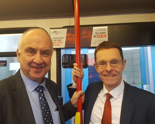 Public backing for new powers to tackle anti-social behaviour on the buses