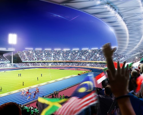 £778m investment in Birmingham and the West Midlands to deliver  2022 Commonwealth Games