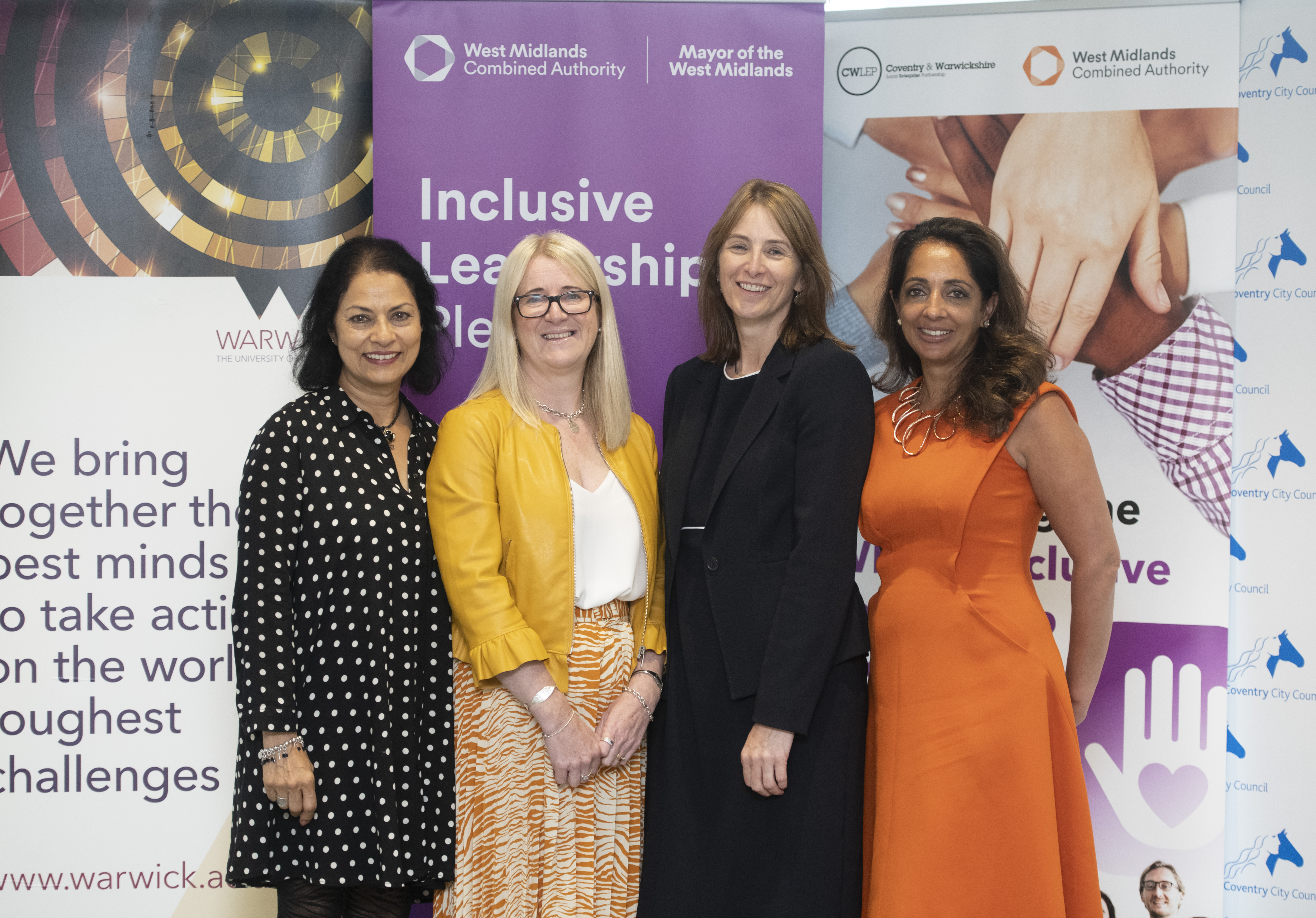 The WMCA brings Coventry businesses together for Inclusive Leadership Pledge