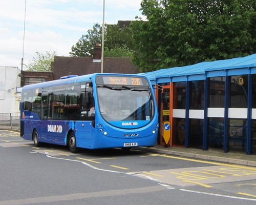 New green buses in Dudley boost the WMCA's ambition to clean up air pollution