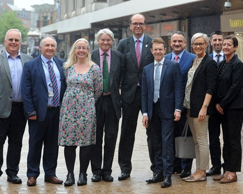 Partnership launched to transform Sutton Coldfield town centre