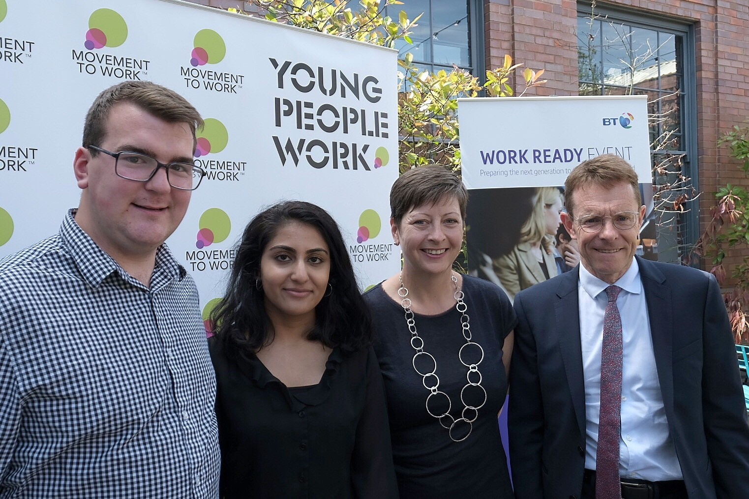 Young people among first of 1,000 in West Midlands to complete work placement programme