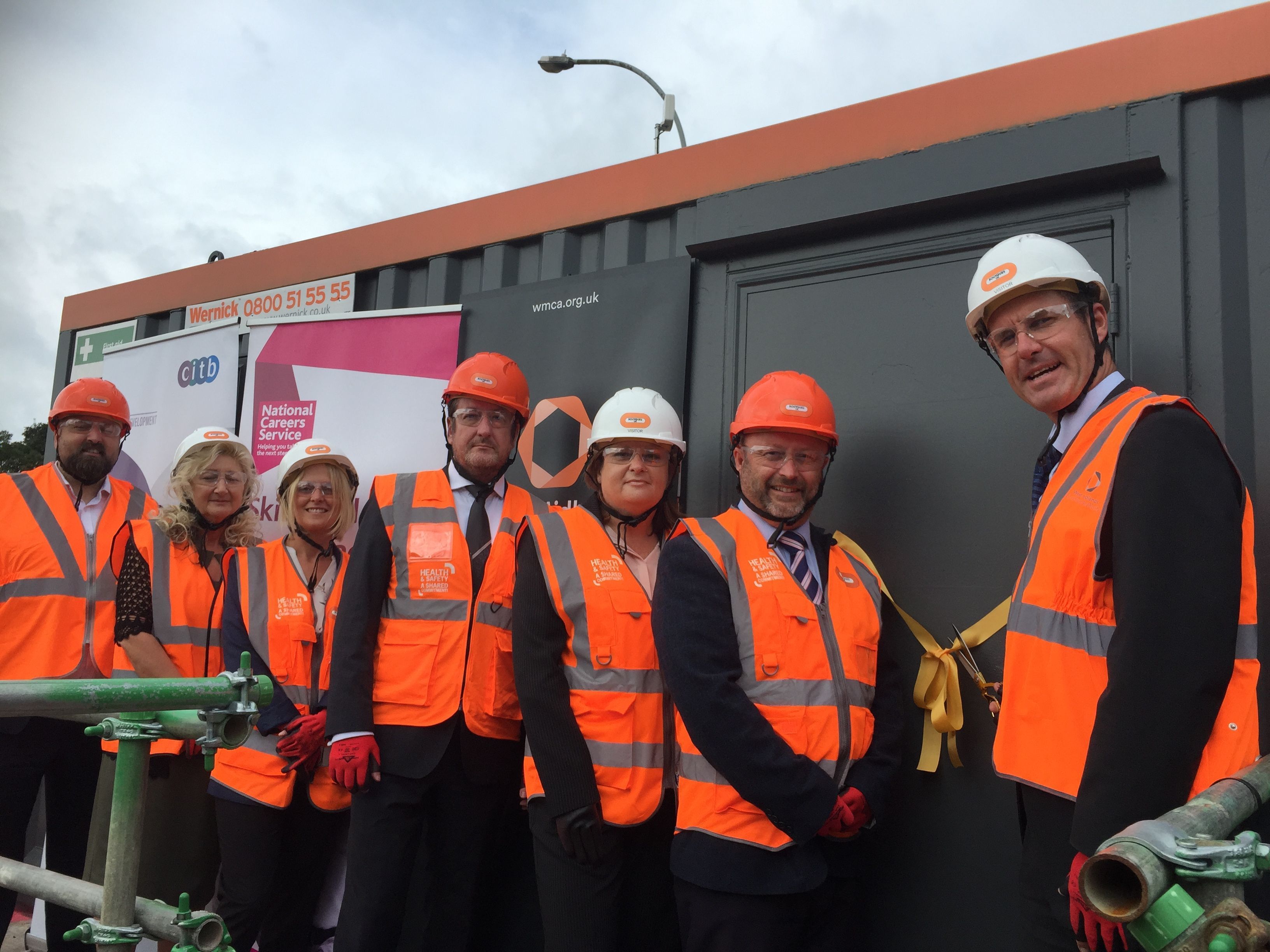 New construction hub in Birmingham offers jobs and training to local people