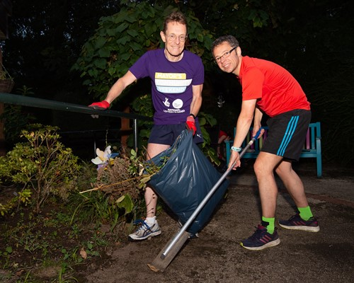 Mayor joins GoodGym Coventry run to celebrate six months of doing good deeds in the community