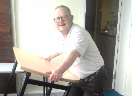 New start for Chris – thanks to WMCA-funded scheme to get people back into work