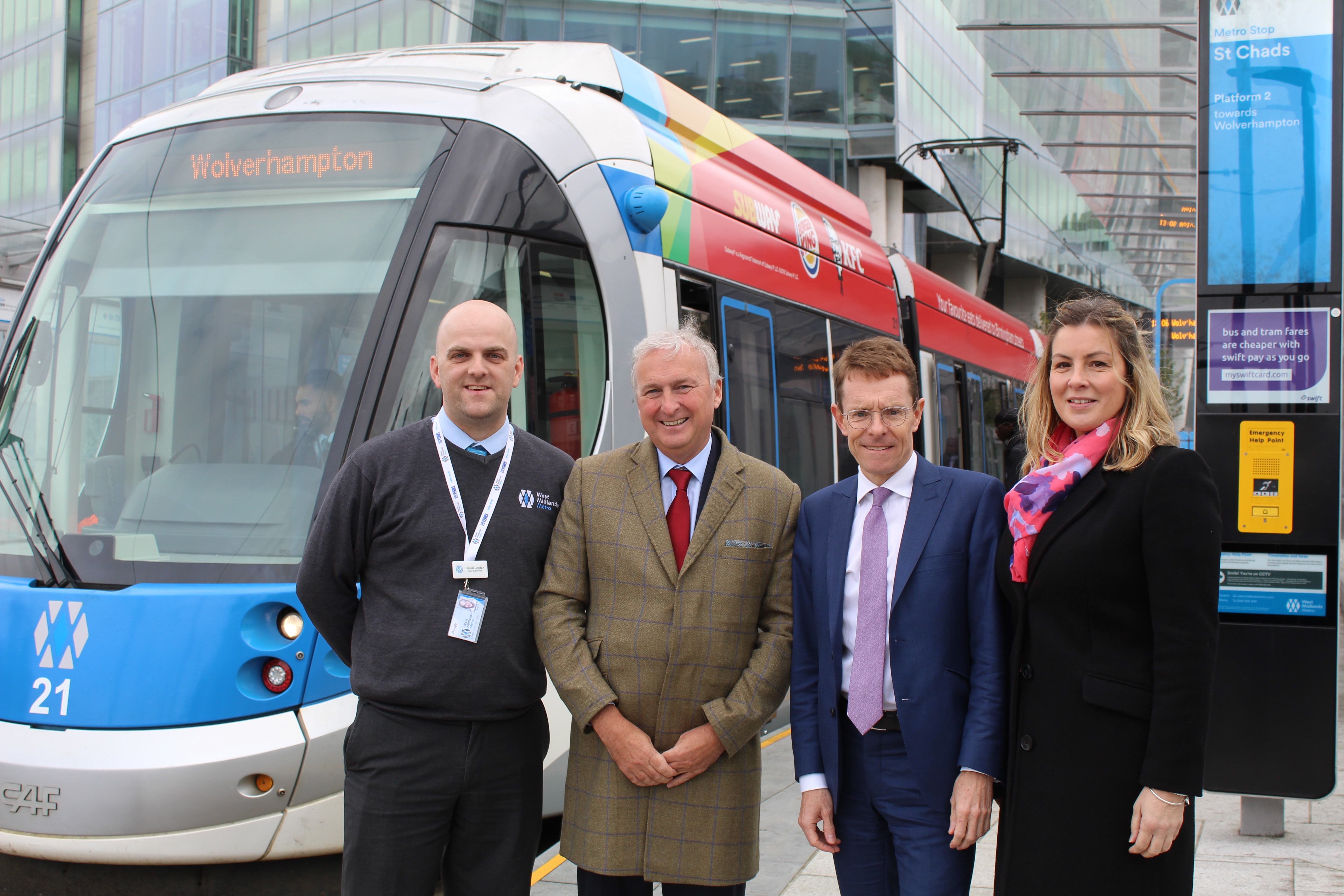 West Midlands Metro orders 21 new trams for rapidly expanding network