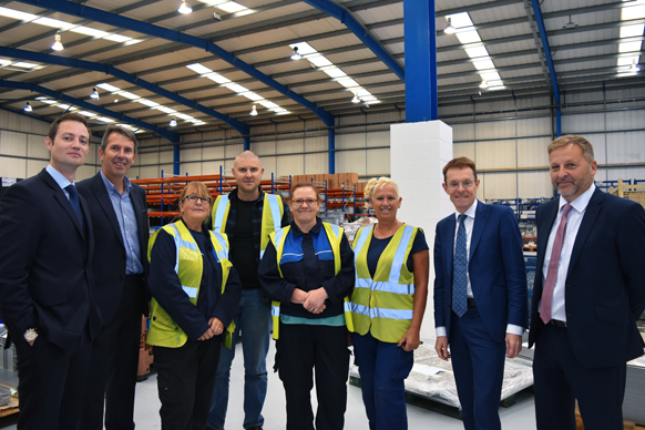 Expanding automotive firm secures new premises following £2.4m WMCA funding