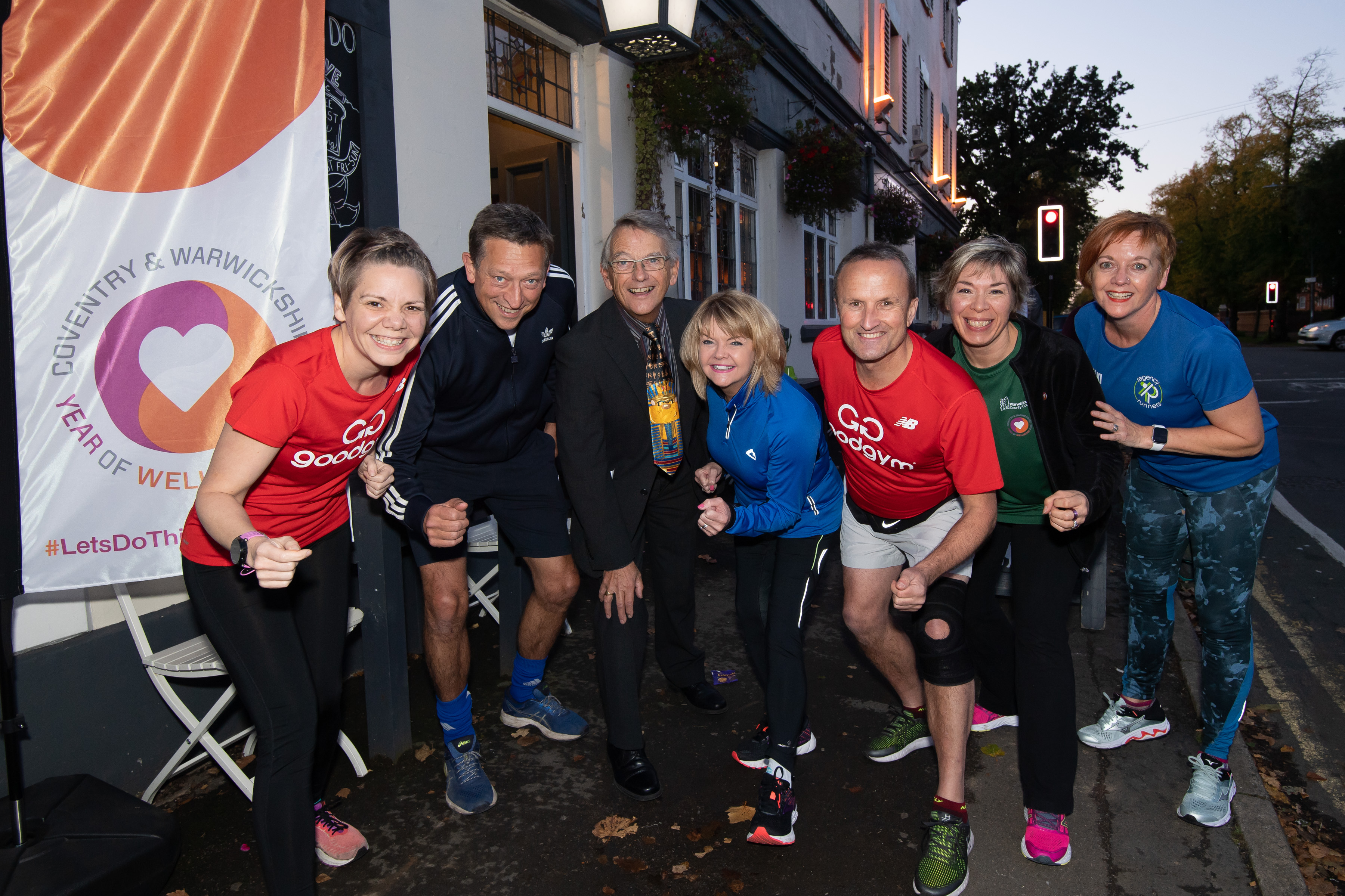 Running group launches in Warwick district to do good deeds for the community