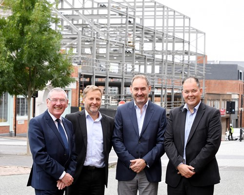 New housing underway in Birmingham's historic Jewellery Quarter following WMCA funding