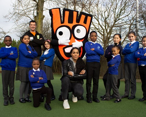 Cycling and Walking Ambassador helps pupils start 2020 on the right foot